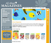 All About Magazines website