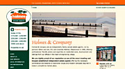Holmes and Co website